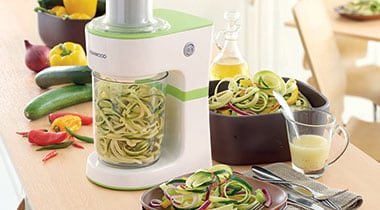 The Kenwood Spiralizer has arrived