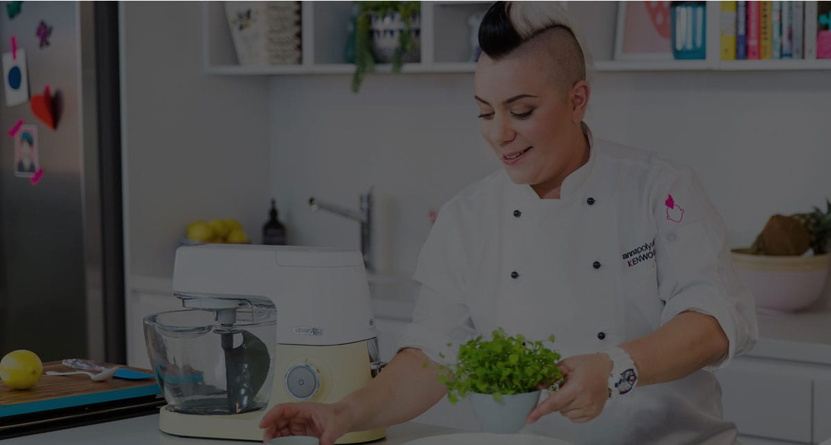 View the new chef sense colours with Anna Polyviou