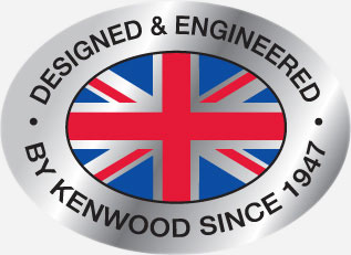 Designed and engineered by Kenwood