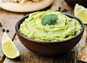 Silky Smooth Avocado Hummus