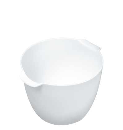 White Plastic Bowl
