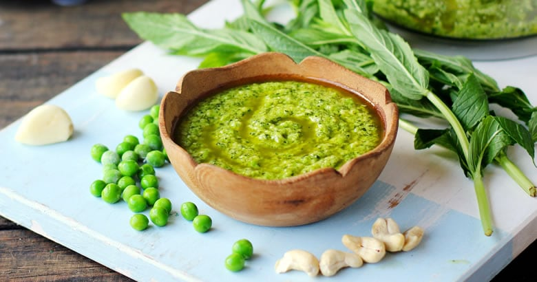 Pea, Mint and Cashew Pesto Recipe