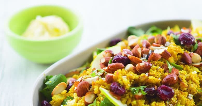 Spiced Cauliflower Rice Salad