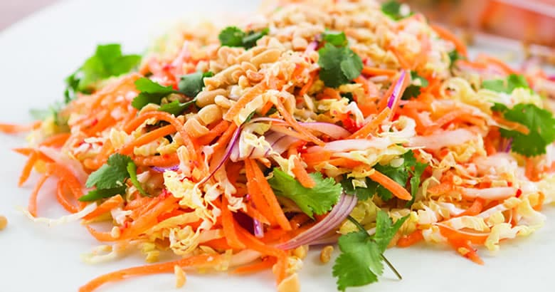 Super Simple Asian Coleslaw