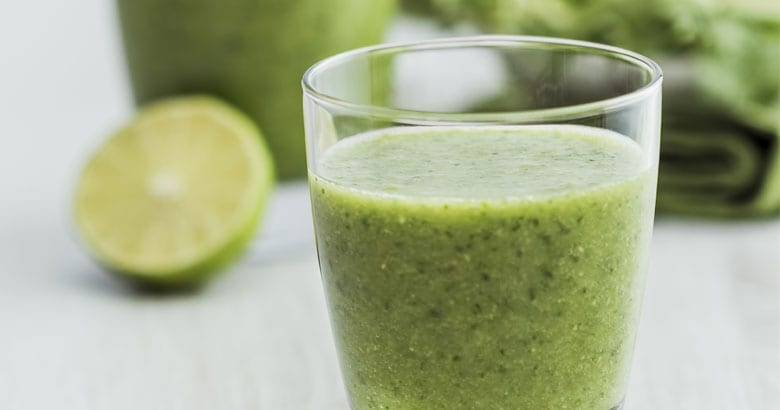Green Tahini Smoothie