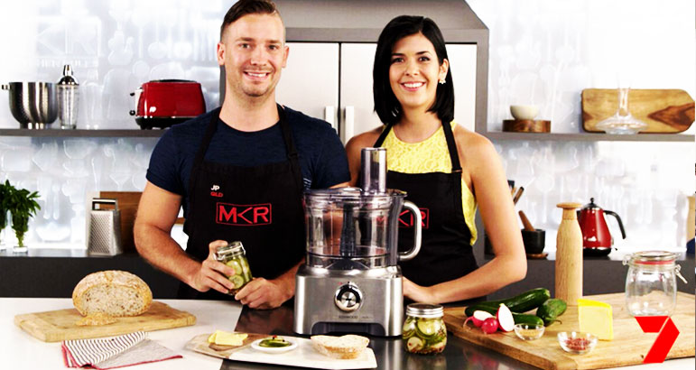 2 Hour Pickles - MKR