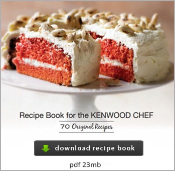 recipe book for your kenwood chef