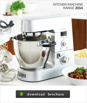 Kenwwood Kitchen Machine Product Range 2014