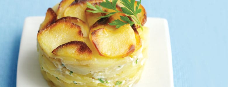 recette de gratin dauphinois pour robot cooking chef de kenwood france. Black Bedroom Furniture Sets. Home Design Ideas