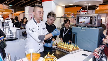 Demonstration by Chef Koo