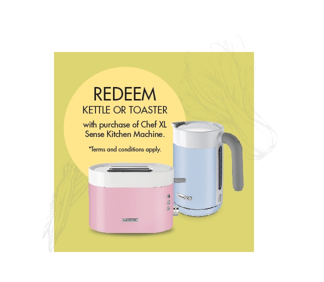 Redeem Free Chef Sense Kettle Or Toaster