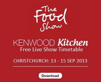 Christchurch Food Show Timetable