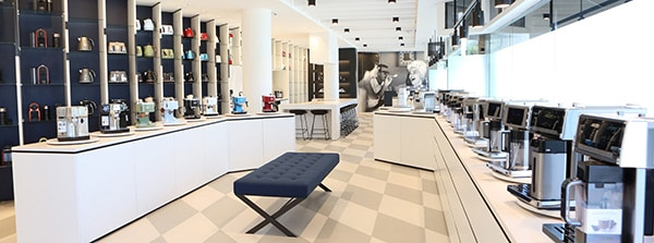 Enquire about the Delonghi Group New Zealand showroom