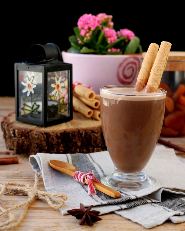 Smoothie de Chocolate Quente