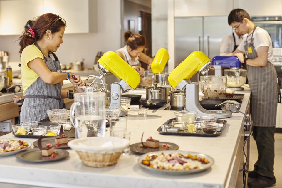 Professional Pastry And Cake Design School Pescara : Kenwood Singapore Culinary School