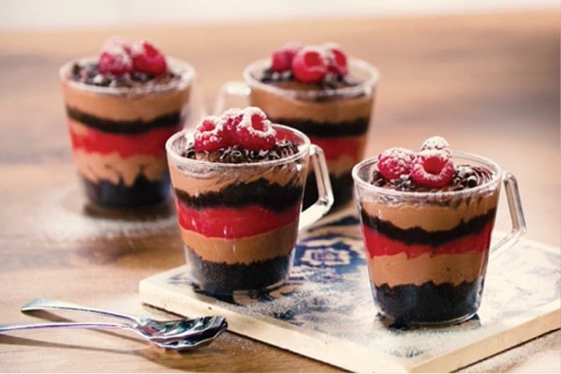 Raspberry Mocha Parfaits