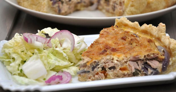Receta de Quiche de atún | cooking chef de kenwood
