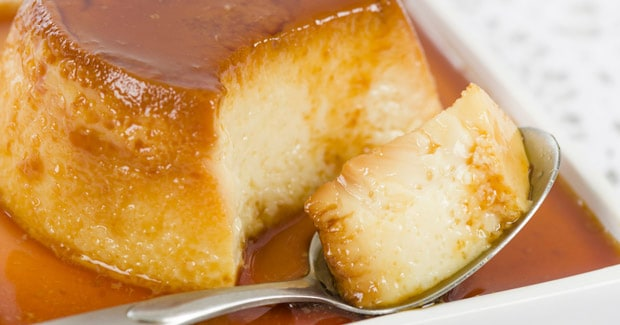 receta de Flan de mató | cooking chef de kenwood