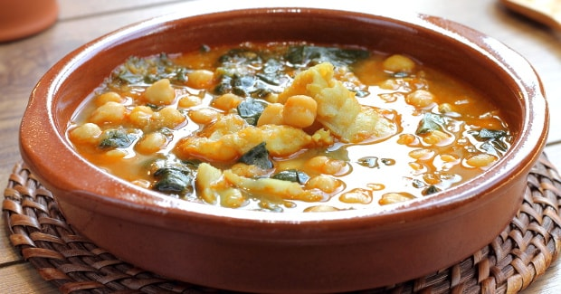 Receta de Potaje de garbanzos | Cooking chef de kenwood