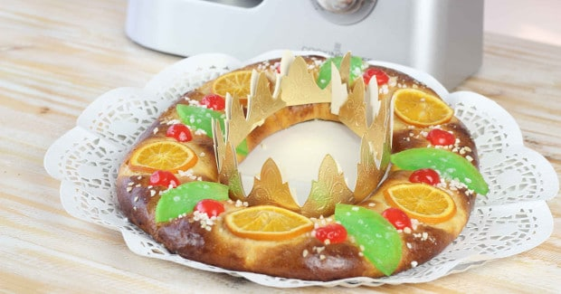 receta de Roscón de Reyes | cooking chef de kenwood