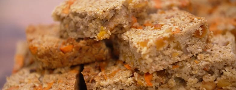 carrot flapjack