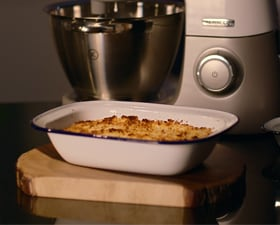 Cranberry, Cointreau and Clementine Crumble by Caroline Taylor