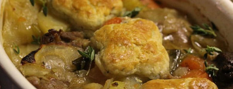 Irish Stew with Thyme Cobbler by Rose Tabberer