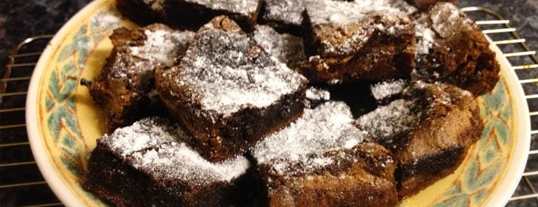 Chilli Chocolate Brownies by Nicola Steaggles