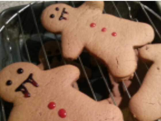 The Best Ever Ginger Bread Man Recipe - Vegan and Refined Sugar Free! by Amy Beeton