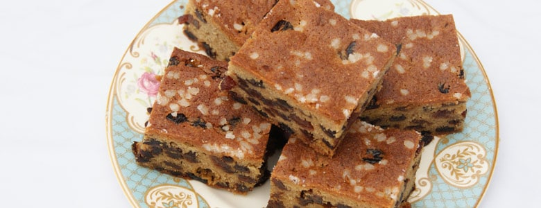 Farmhouse Fruitcake Slices