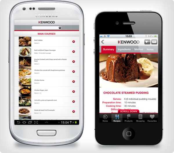 kenwood iphone app, kenwood android app