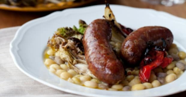 Michael Tusk's Heritage Pork and Green Garlic Sausages