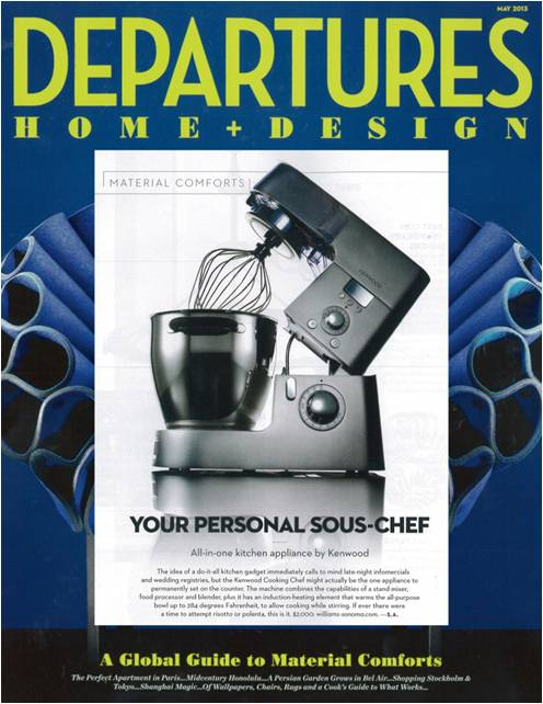 Kenwood Cooking Chef in Departures