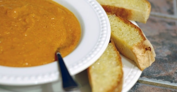 Pumpkin or Butternut Squash Soup