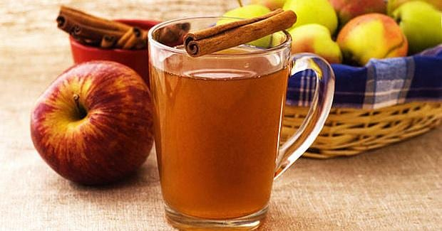 Spiced Hot Apple Cider Using Cooking Chef