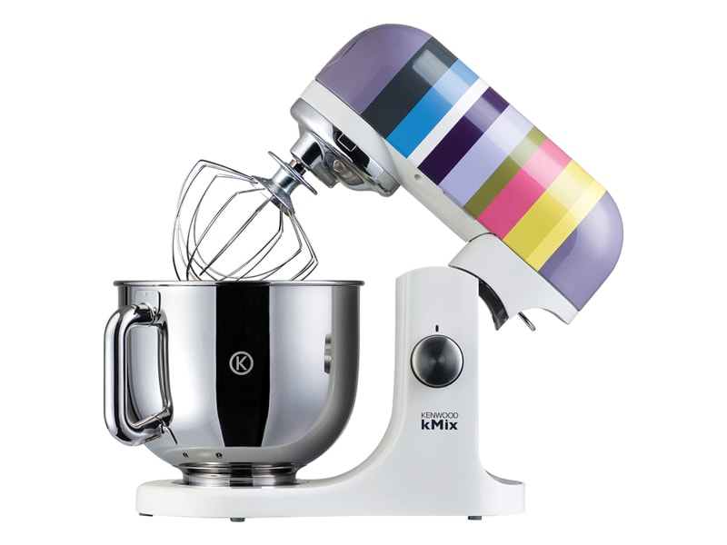Barcelona Multi Colour Stripes Stand Mixer KMX80 by Kenwood UK