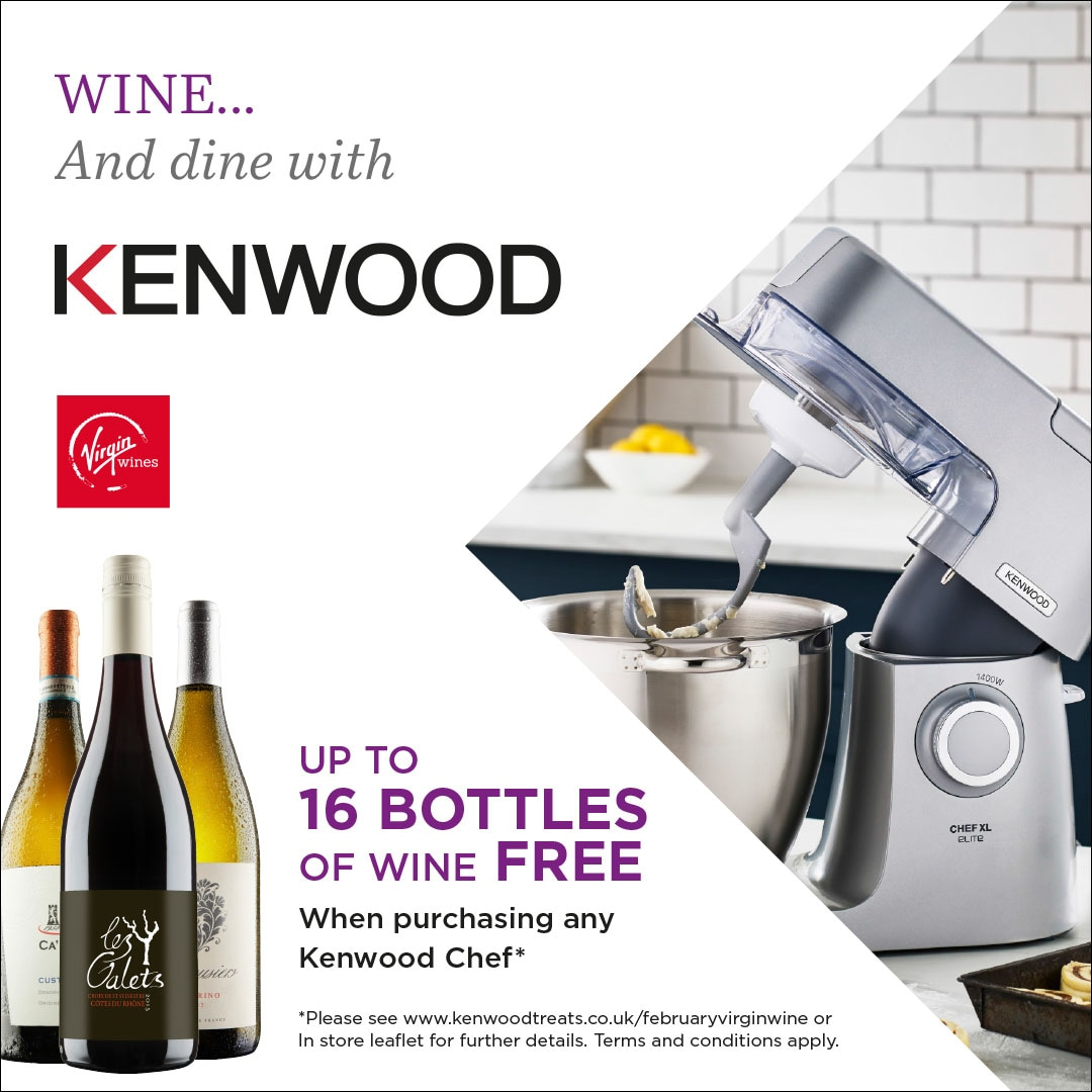 NEW: Virgin Wine Chef Promotion