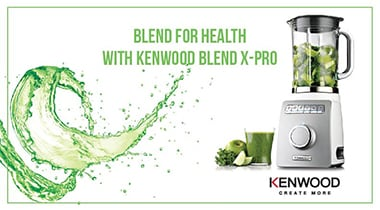 Blending for Health with Kenwood Blend X-Pro