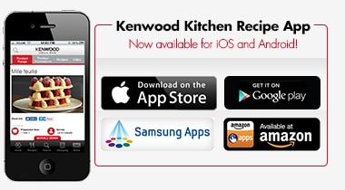 Kenwood Kitchen Recipe App