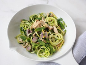 Tuna Courgetti