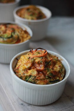 Vegetable Quiches by Amelia Freer