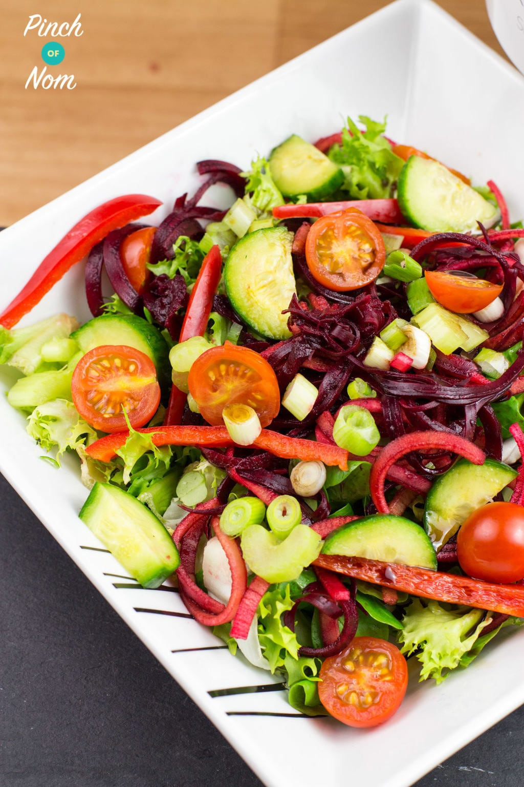 apple and beetroot salad by pinchofnom