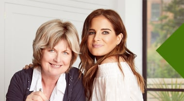 Binky and Jane make  a childhood favourite recipe with Kenwood Chef