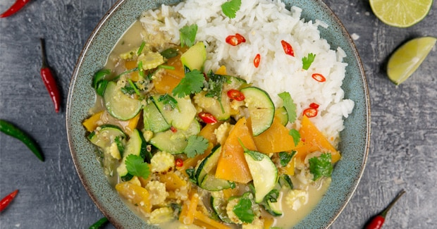 Thai Vegetable Curry with Veggie Express