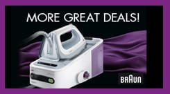 GREAT DEALS ON BRAUN