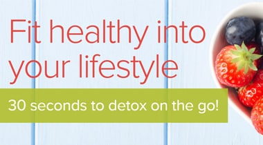 Fit healthy into your lifestyle