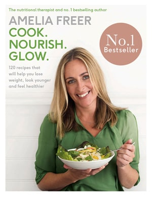 Amelia Freer, Best selling author of Cook Nourish Glow, has written many recipes for the Kenwood Spiralizer