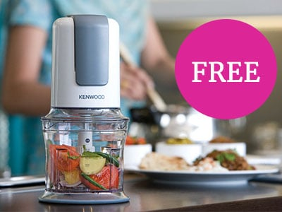 Free CH580 Mini Chopper with orders over £300*