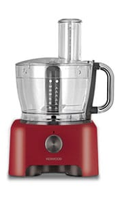 Food Processor Raspberry Red