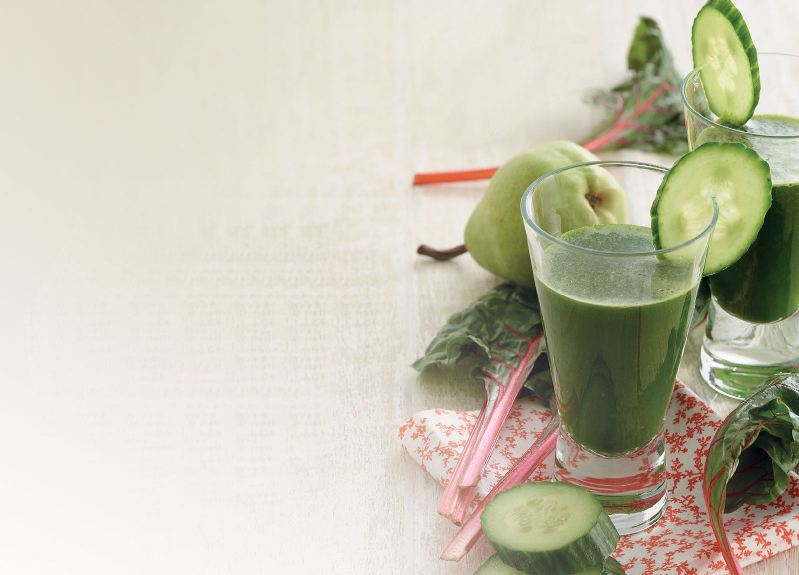 Smoothie With Cucumbers